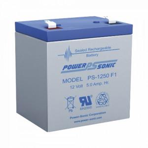 Ps1250f1 Power Sonic Bateria De Respaldo UL De 12V