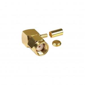 Rp30101b Rf Industriesltd Conector SMA Macho Inve