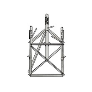 Rsb07 Rohn Base Corta Para Seccion 7 Para Torres A