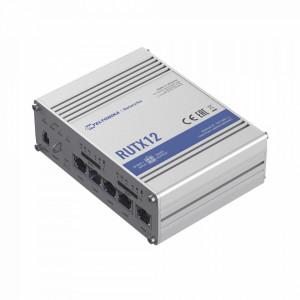 Rutx12 Teltonika Router Industrial LTE Cat 6 Dobl