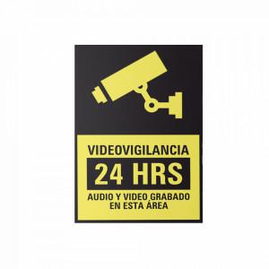 Sysletvid10 Syscom Letrero De Videovigilancia En P