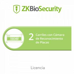 Zkbsparklpr2 Zkteco Licencia Para ZKBiosecurity Pa