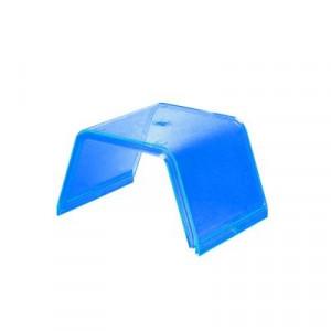 411176 Federal Signal Domo De Reemplazo Central Color Azul. 411-