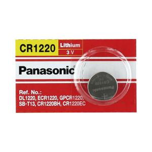 Cr1220 Panasonic Bateria De Litio Tipo Moneda 3V /