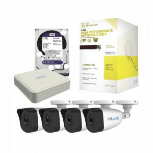 Khl4b1tb Hikvision Kit IP 1080p / NVR De 4 Canales
