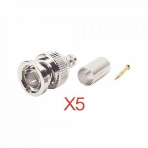 Kitrfb1707d5 Rf Industriesltd Kit De 5 Conectores