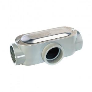 Ot2990c Rawelt Caja Oval Roscada Tipo OT De 1/2 1