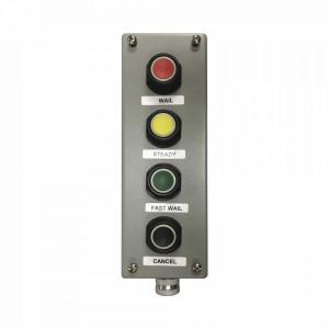 Pbs4 Federal Signal Industrial Botonera Cuadruple