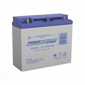 Ps12200nb Power Sonic Bateria De Respaldo UL De 12