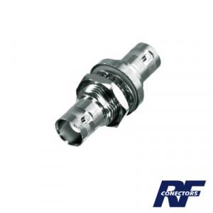 Rfb1135 Rf Industriesltd Adaptador Doble BNC Hemb