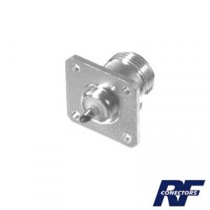 Rfn10212 Rf Industriesltd Conector N Hembra Montaje Chasis De 4