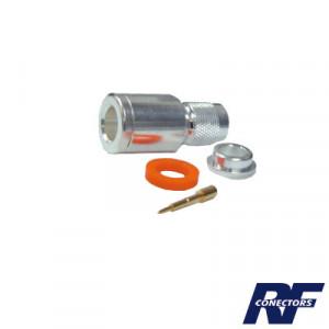 Rft1201si Rf Industriesltd Conector TNC Macho De