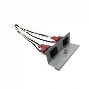 Rsb2 Altronix Doble Interruptor Con Soporte Ultra