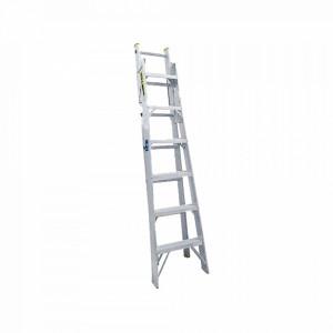 Sysec13 Surtek Escalera De Aluminio 2 Modos Tijer