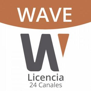 Wavepro24 Hanwha Techwin Wisenet Licencia De 24 Ca