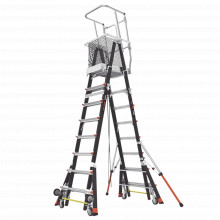 Cage8ft Little Giant Ladder Systems Escalera Con J