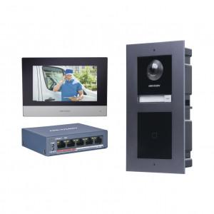 Dskis601v2 Hikvision KIT De Videoportero IP Con Ll