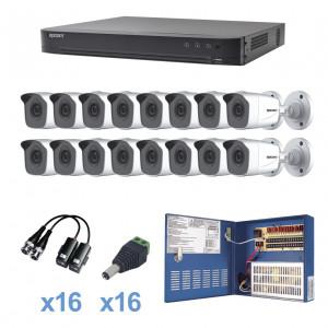 Kevtx8t16bw Epcom KIT TurboHD 1080p / DVR 16 Canal