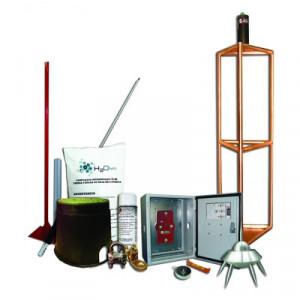 Kitmaster05 Total Ground Kit Pararrayo Con Accesor