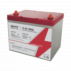 Li10012s Epcom Bateria De Litio Ciclo Profundo 12.