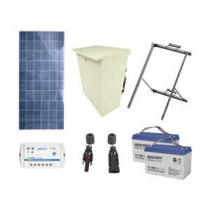 Plradfv Epcom Powerline Kit De Energia Solar De 12