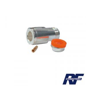 Rfn10241 Rf Industriesltd Conector N Hembra De An
