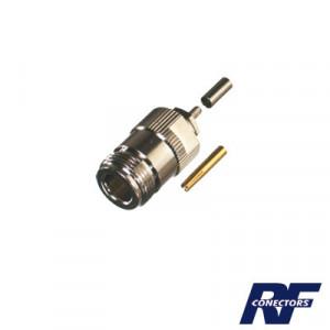 Rfn1027b Rf Industriesltd Conector N Hembra De An
