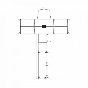 Rme Federal Signal Industrial Placa De Montaje Par