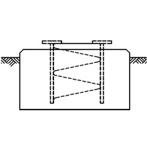 Ssvsb5 Rohn Anclaje Tipo Base Corta Para Seccion SSV5N Incluida
