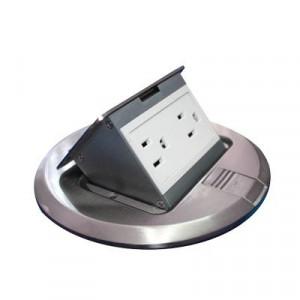 Thmcpra Thorsman Mini Caja De Piso Redonda Acero I