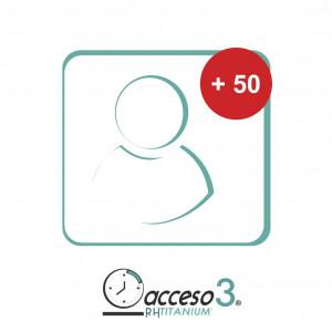 Titanium50emp Accesspro Expansion De 50 Empleados