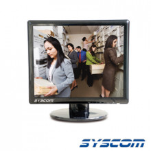 HTLM170N Syscom Video Monitor 17 LCD profesional