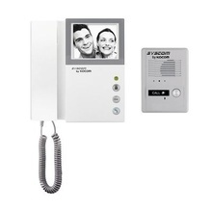 Kvm301 Kocom Kit De TV Portero Con Auricular Monitor Blanco Y Ne