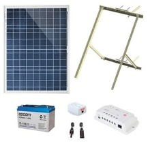 Pl1224g1r Epcom Powerline Kit Solar De 14 W Con Po