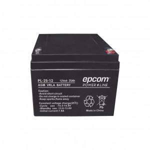 Pl2512 Epcom Power Line Bateria Con Tecnologia AGM