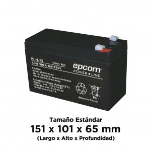 Pl912 Epcom Powerline Bateria AGM/VRLA De 12 Vcd