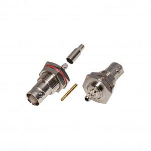 Rfb1117b1t Rf Industriesltd Conector BNC Hembra /