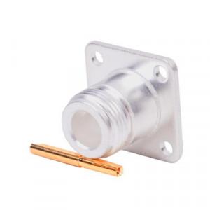 Rfn10211 Rf Industriesltd Conector N Hembra Mont