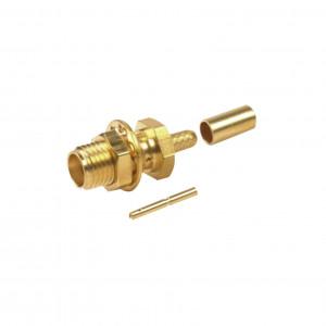 Rsa32521b Rf Industriesltd Conector SMA Hembra Pa