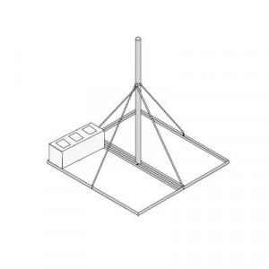 Sbnp901 Syscom Towers Base No Penetrante De 0.9 X