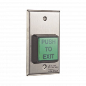 Ts2 Alarm Controls-assa Abloy Boton De Salida De A