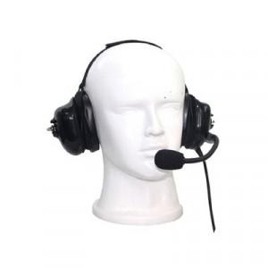 Tx740h07 Txpro Auricular Dual Acolchonado Con Microfono Flexible