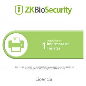 Zkbscp1 Zkteco Licencia Para ZKBiosecurity Para In
