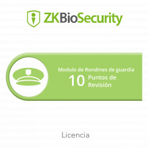 Zkbspat10 Zkteco Licencia Para ZKBiosecurity Para
