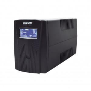 Epu600lcd Epcom Powerline UPS De 600VA/360W / Topo