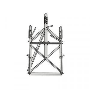 Rsb08 Rohn Base Corta Para Seccion 8 Para Torres A