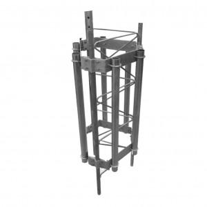 Smhex45g Syscom Towers Herraje Para 6 Antenas Sect