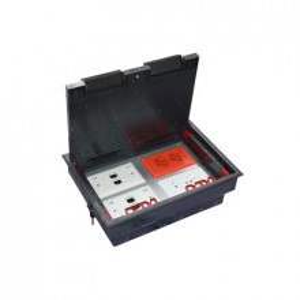 Thcp4m Thorsman Caja De Piso Para Cuatro Modulos U