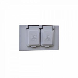 Tr0611 Rawelt Tapa Rectangular Duplex Horizontal C