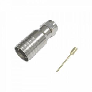 Tt11f03 Epcom Titanium Conector F Macho 75 Ohm